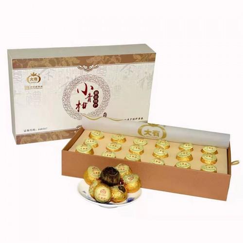 小青柑皮普洱茶礼盒18个装