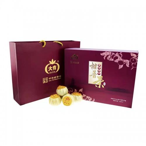 柑普茶礼盒8个装